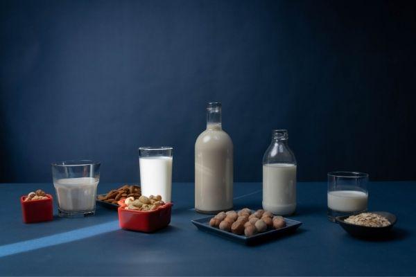 plant milk, almond milk