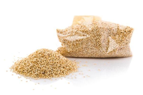 Quinoa, healthy vegan diet